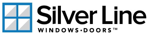 silver line vinyl windows logo